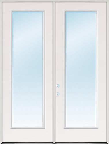 Tall Full Lite Fibergl Patio Door