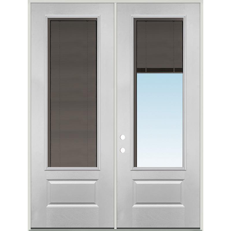 44+ Exterior Door With Blinds Images